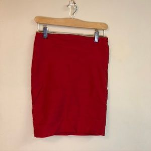 🌸 LAST CHANCE Bright Red Dynamite Skirt 🌸